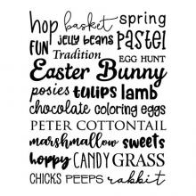 hop basket spring jelly beans pastel fun tradition egg hunt easter bunny posies lam tulips chocolate coloring eggs peter cottontail marshmallow sweets hoppy candy grass chicks peeps rabbit wall quotes vinyl lettering wall decal home decor seasonal subway
