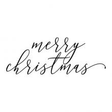 Merry Christmas wall quotes vinyl lettering wall decal home decor vinyl lettering holiday seasonal