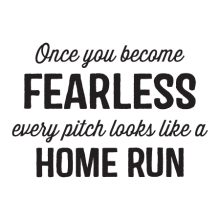 Every Pitch Looks Like A Home Run Wall Quotes™ Decal perfect for any home