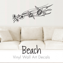 Wall Art Designs WallQuotescom - Wall decals beach quotes