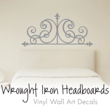 Wrought Iron Headboards