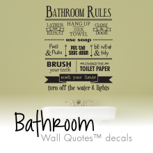 vinyl wall quotes
