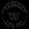 hamilton ON postmark wall art decal