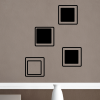 Inset Squares (qty 4)