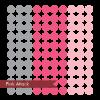 multi colored polka dots