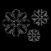 oar flowers decal