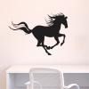 galloping horse desk office wall art decal
