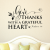 Give Thanks Vinyl Decal