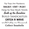 Beach House Rules Wall Quotes™Decal great for any home