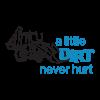 bulldozer dirt never hurt wall decal