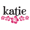 hibiscus flowers and custom name wall decal