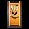 Smiling pumpkin face Door