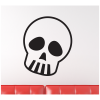 skull with pouty eyes