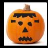 Frankenstein face Pumpkin