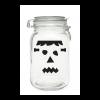 Frankenstein face Mason Jar