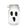 Ghostly boo face Door
