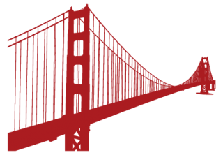 Sorry Your Browser Doesn T Support Our Live Preview Features Try A More Modern Instead Google Chrome Sf Golden Gate Bridge Skyline Wall Decal