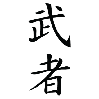 Warrior Chinese Symbol Wall Quotes Wall Art Decal