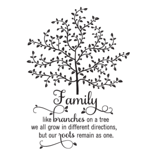 Family Tree Wall Quotes Decal