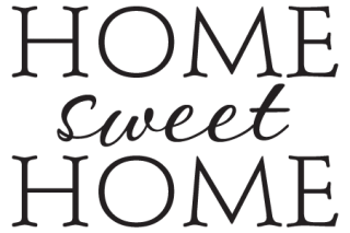 simple home sweet home wall quotes decal com
