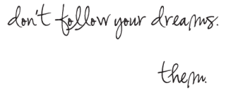 Chase Your Dreams Whimsical Wall Quotes™ Decal