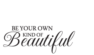 Own Kind Of Beautiful Butterfly Wall Quotes Decal Wallquotescom
