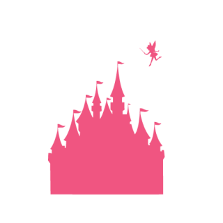 Fairytale Castle & Pixie-dust Wall Quotes™ Decal | WallQuotes com