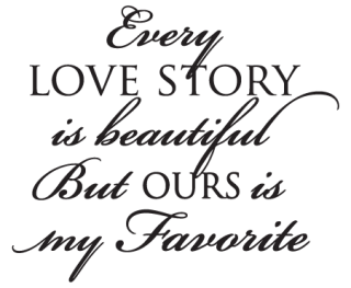 Every Love Story Wall Quotes Decal Wallquotescom