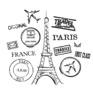 Paris Postmark Collage Sorry Your Browser Doesnt Support Our Live Preview Features Try A More Modern Instead Google Chrome