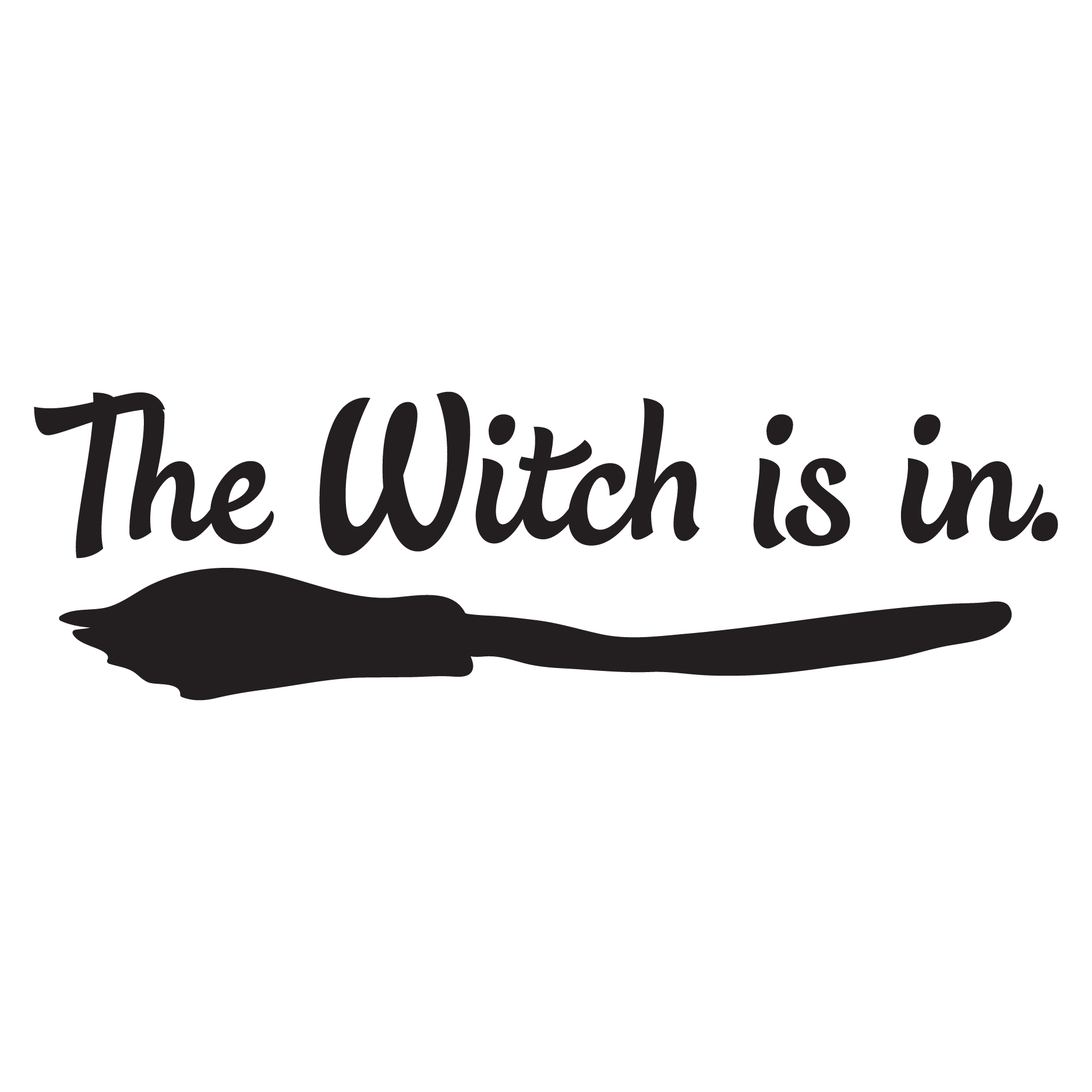 Bedroom Stencils The Witch Is In Wall Quotes Decal Wallquotes Com
