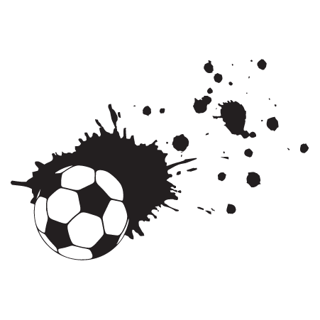 Soccer Splatter Wall Quotes Wall Art Decal Wallquotes Com