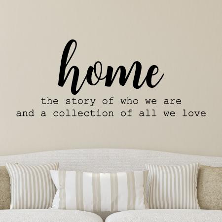 Amazon Com Because Every Picture Has A Story To Tell Vinyl Wall Decal Home Kitchen