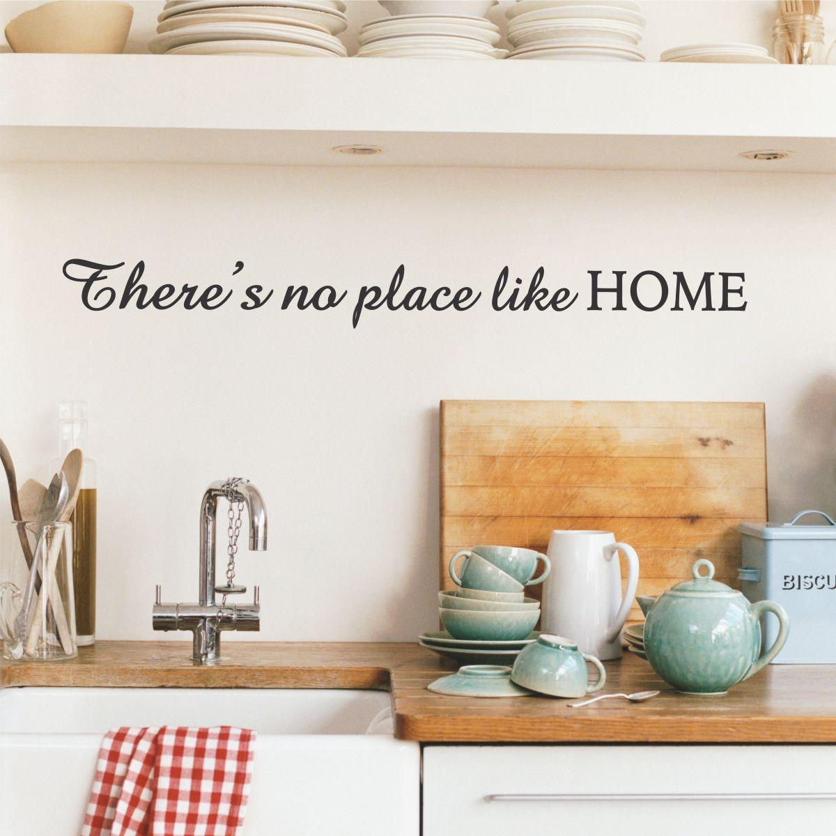 There's No Place Like Home Wall Quotes™ Decal