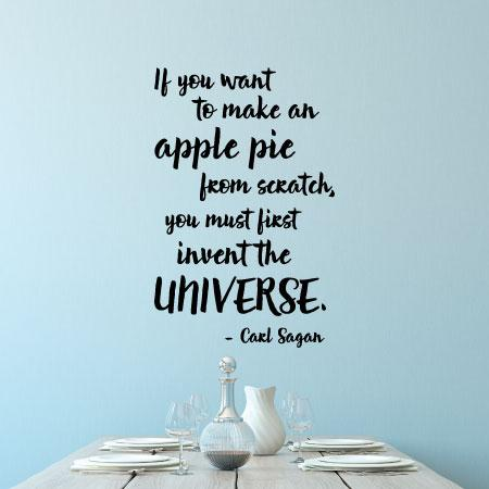Apple Pie Wall Quotes Decal Wallquotes Com