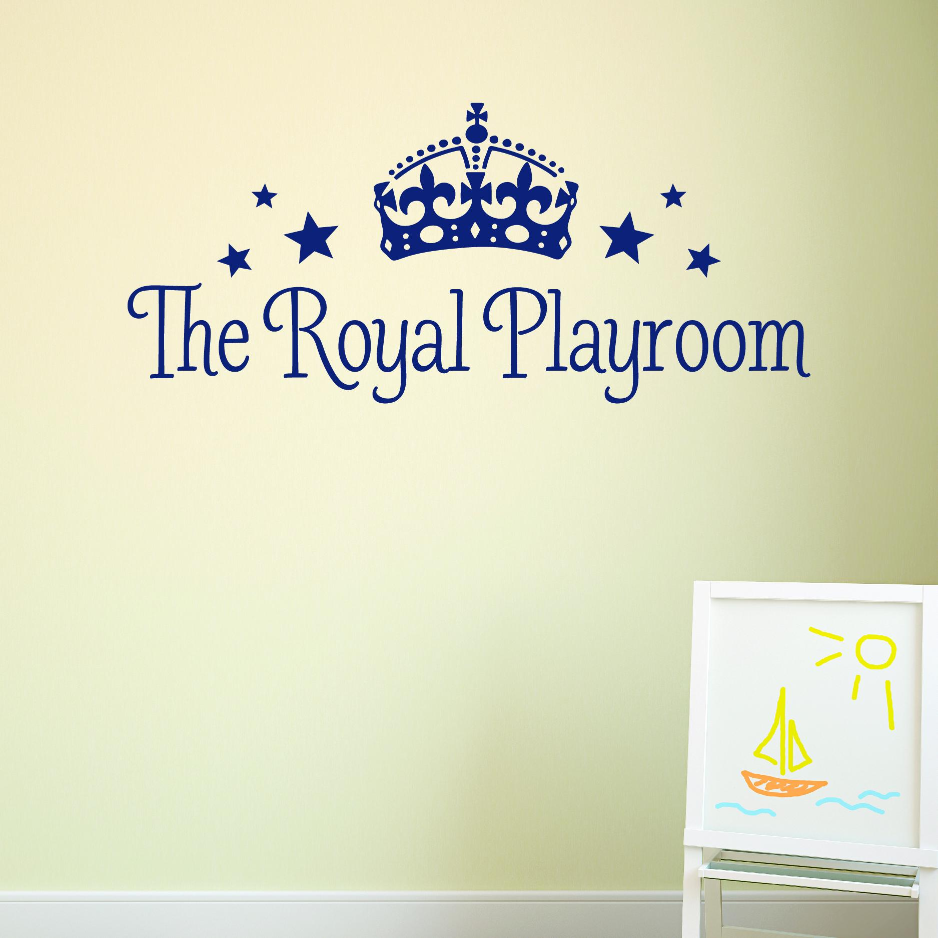 The Royal Playroom Wall Quotes Decal Wallquotes Com