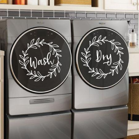 Wash And Dry Wreaths Wall Quotes Decal Wallquotes Com