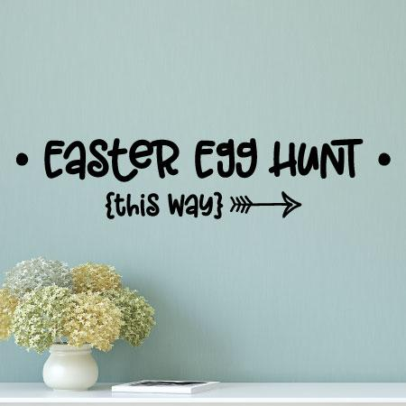 Easter Egg Hunt Wall Quotes Decal Wallquotes Com