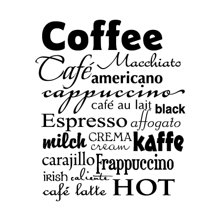 Coffee Subway Art Wall Quotes Decal Wallquotes Com