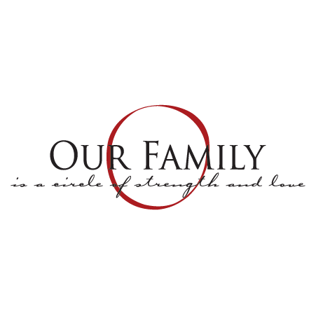 Our Family Elegant Wall Quotes Decal Wallquotes Com