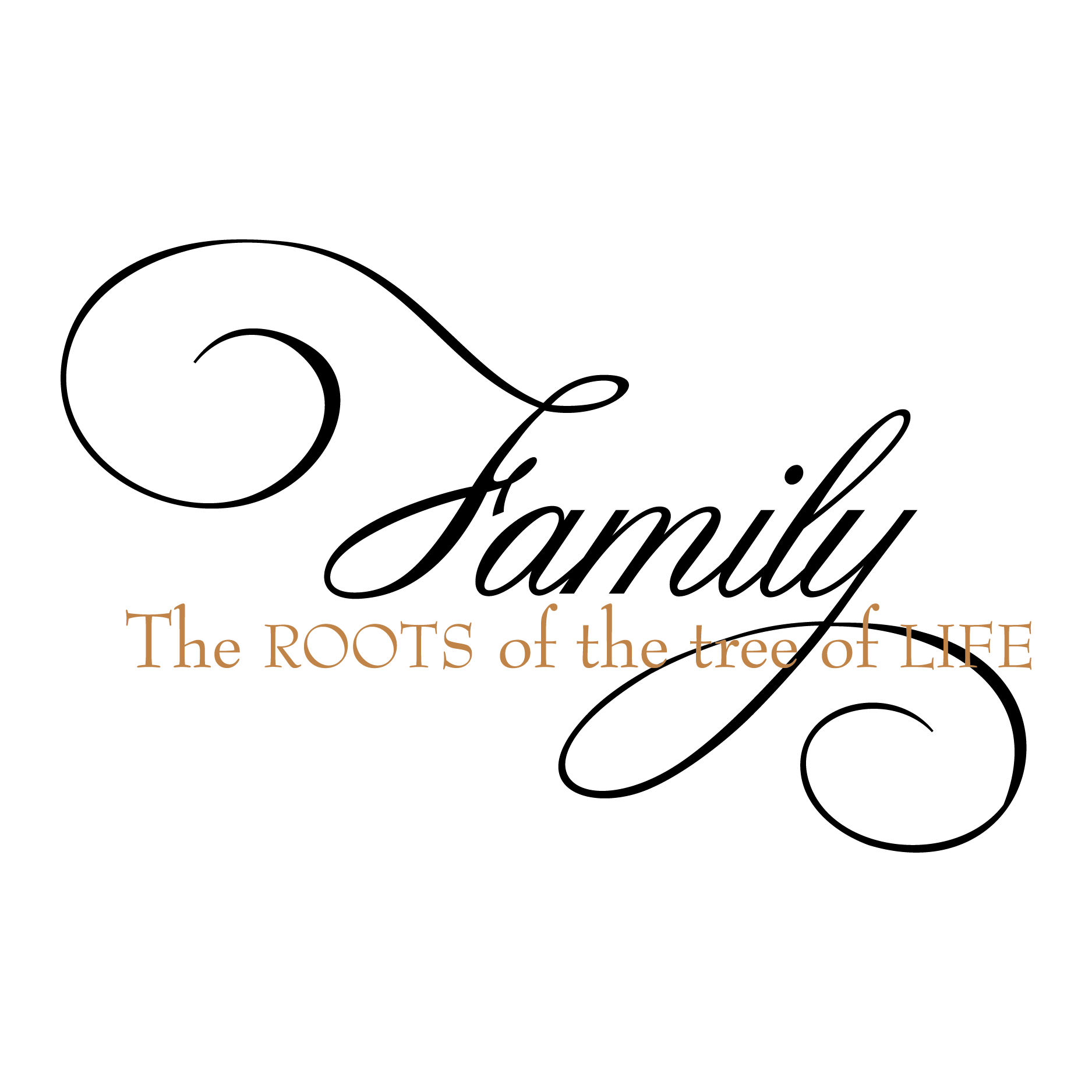 Roots Of The Tree Of Life Wall Quotes Decal Wallquotes Com