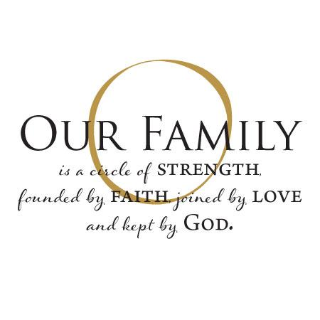 Our Family Is Kept By God Wall Quotes Decal Wallquotes Com