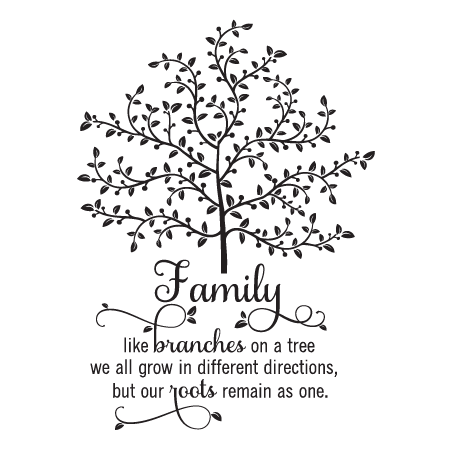 Family Tree Wall Quotes Decal Wallquotes Com