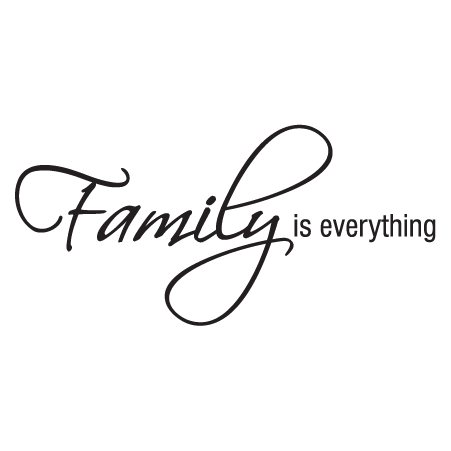 Family Is Everything Wall Quotes Decal Wallquotes Com