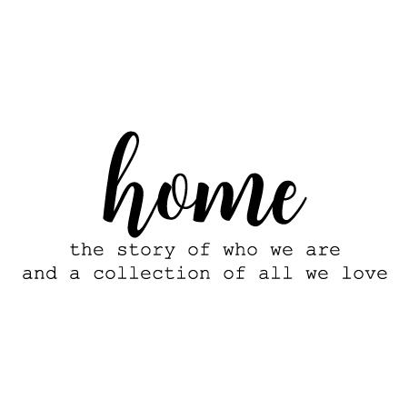 home is the story of who we are wall quotes decal com