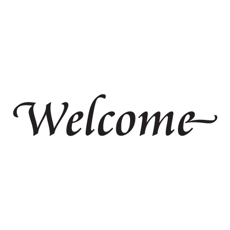 Simply Elegant Welcome Wall Quotes Decal Wallquotes Com