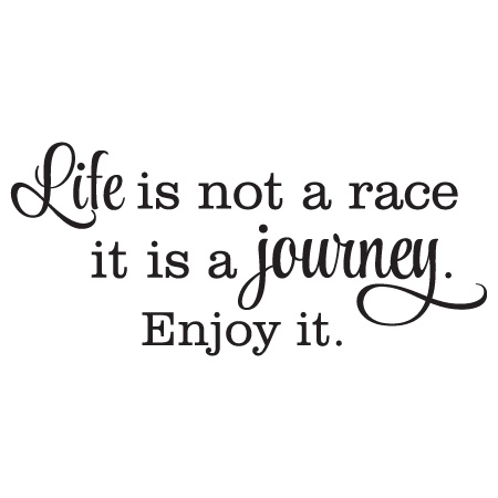Life Is A Journey Wall Quotes Decal Wallquotes Com