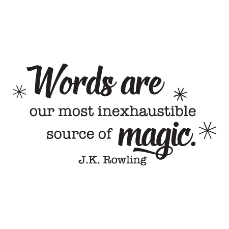 Words Are Magic Wall Quotes Decal Wallquotes Com