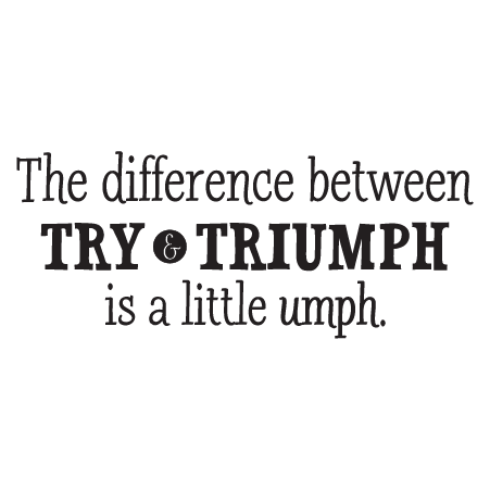 A Little Umph Wall Quotes Decal Wallquotes Com
