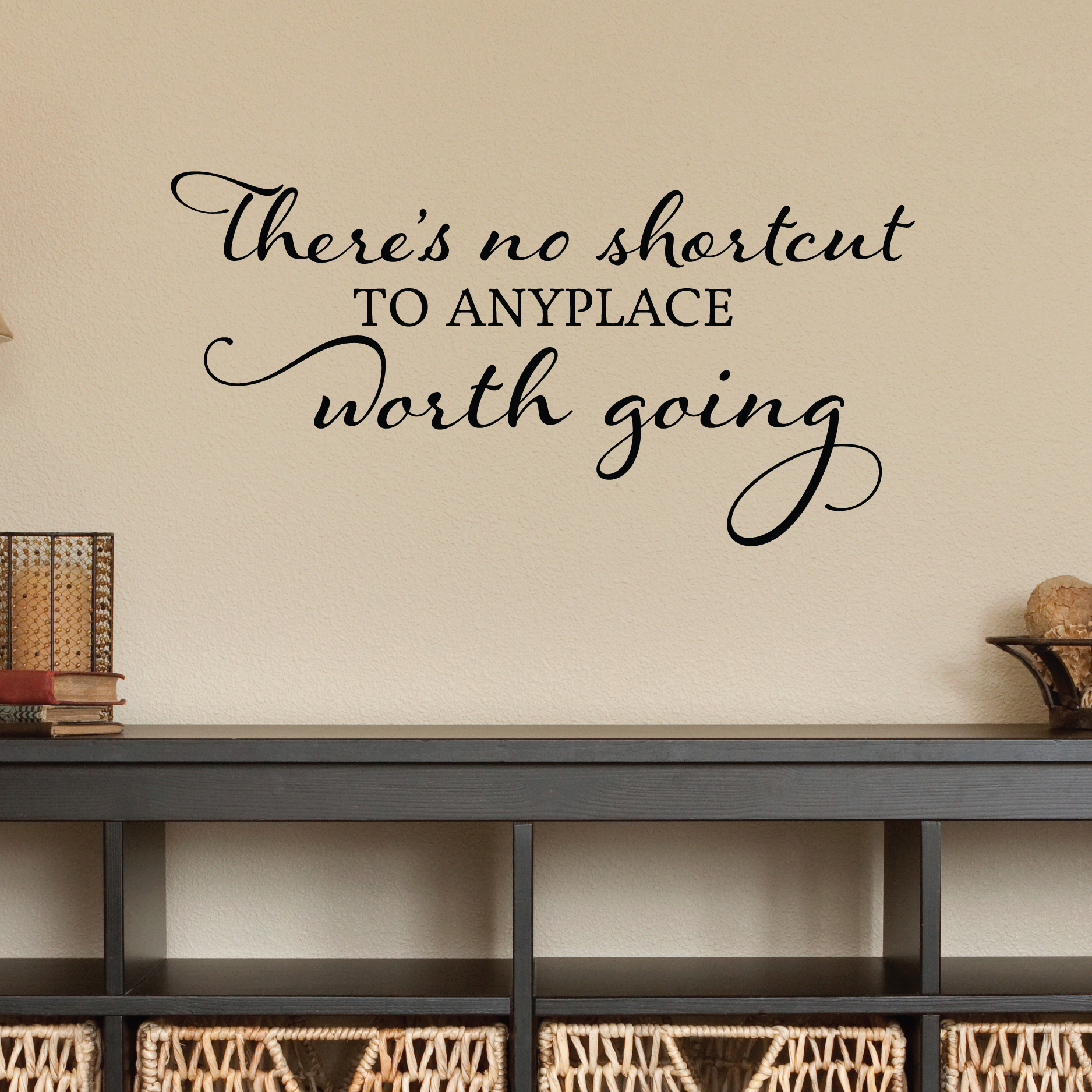 No Shortcut Wall Quotes Decal Wallquotes Com