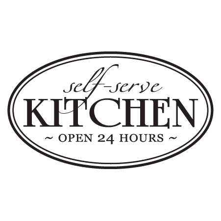 Self Serve Kitchen Wall Quotes Decal Wallquotes Com